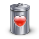 recycle,love,bin,valentine
