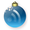 feed,christmas,blue,rss,subscribe