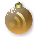 feed,christmas,gold,rss,subscribe