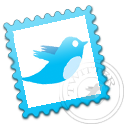 twitter,stamp,postage,social network,social,sn