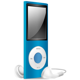 ipod,nano,blue,off