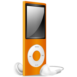 ipod,nano,orange,off