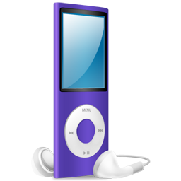 ipod,nano,purple,purple on