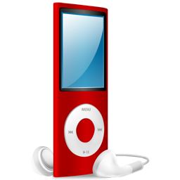 ipod,nano,red,red on