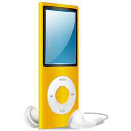 ipod,nano,yellow,yellow on
