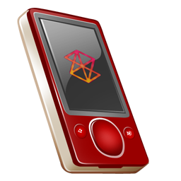zune,rouge