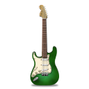 stratocaster,guitar,green