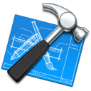 xcode,hammer,tool,utility,blue print