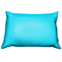 blue,pillow