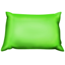 green,pillow