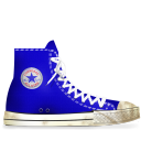 converse,blue,dirty