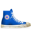 converse,blue,light,dirty,tip,energy,hint