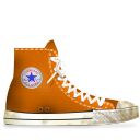 converse,orange,dirty
