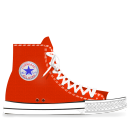 converse,red