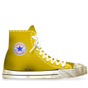 converse,yellow,dirty