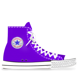 Converse Lila Light Icon Png Ico Or Icns Free Vector Icons