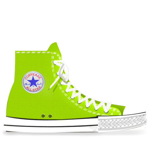 Converse Lime icon PNG, ICO or ICNS | Free vector icons