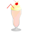 milkshake,strawberry,food
