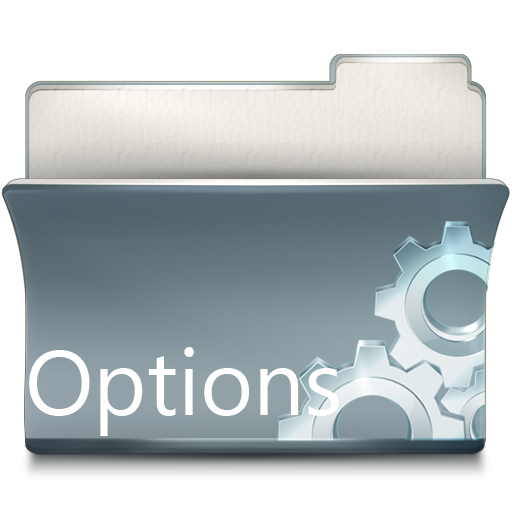 option,preference,setting,configure,configuration,config
