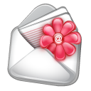 contact,email,flower,envelope