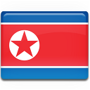 north,korea,flag,country