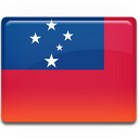 samoa,flag,country