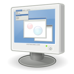 Pc Lcd Monitor Icon Png Ico Or Icns Free Vector Icons